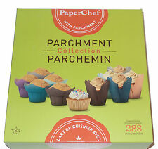 Paper Chef Parchment collection, 288 Cupcake Cups, 8 boxes total NIB