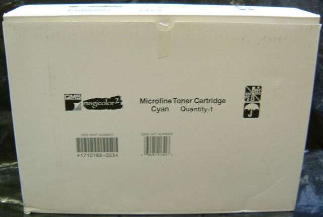 Konica Minolta QMS Magicolor 2 Laser Toner Cartridge Cyan 1710188-003