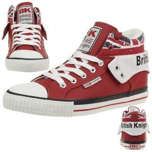 British-Knights-ROCO-Sneaker-BK-Red-bkc-3702-02-Inghilterra-Bandiera