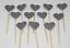 12-Paillettes-Coeur-Cupcake-Toppers-Parti-Decoration-cup-cake-topper-Food-drapeaux miniature 20