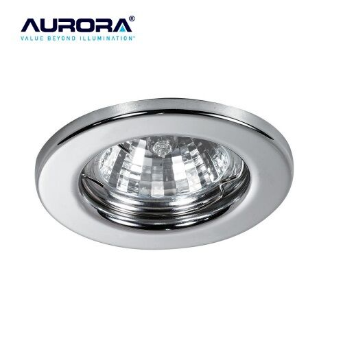 Aurora A2-DLM141PC GU10 Mains Fixed Can Halogen Downlight Polished Chrome
