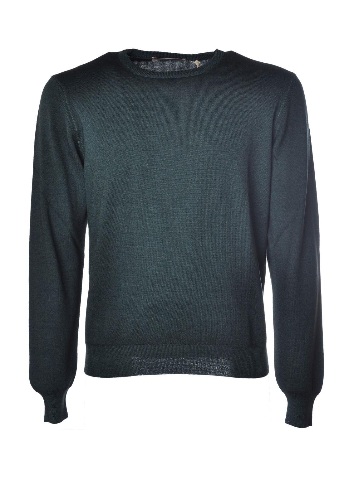 ba215e03f LA FILERIA - Knitwear-Sweaters - Man Green 3988008C191120 ...