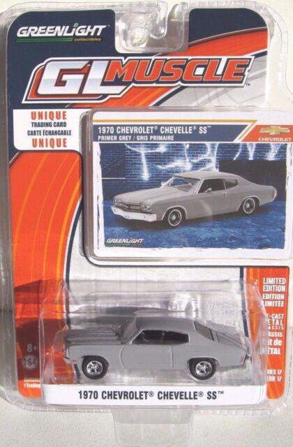 Greenlight GL Muscle Series 17 1970 Chevrolet Chevelle SS Primer Gray