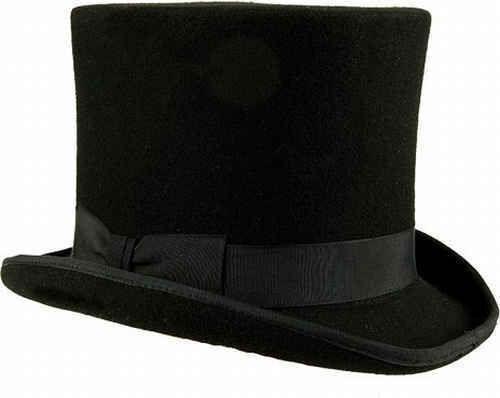 Premium Zylinder Quentin Top hat Zylinderhut Wollfilz Gentleman Gentleman Gentleman  | Niedrige Kosten  | Diversified In Packaging  | Starker Wert  | Kostengünstig  | Gewinnen Sie das Lob der Kunden  5a1060