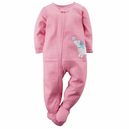 54635feb7 I Found It On eBay  NWT ☀FOOTED☀ CARTERS Girls Pajamas New PUPPY ...