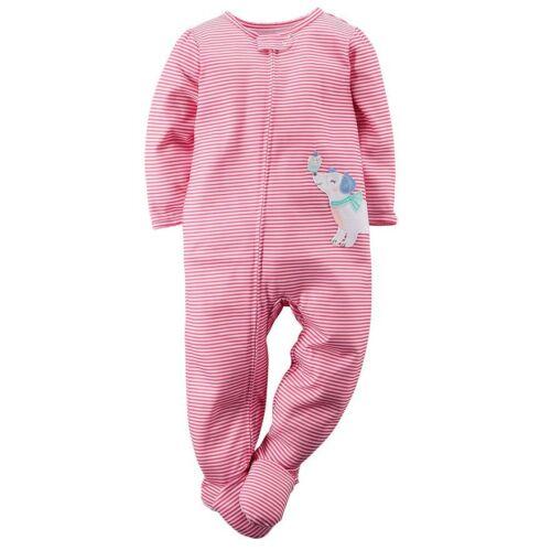 NWT ☀FOOTED☀ CARTERS Girls  BALLERINA  Pajamas  New   24m