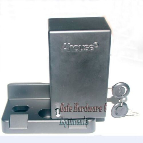 AHouse DS218 24V DC Automatic Electric Gate Lock Cast Iron Bolt Swing Operator