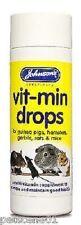 Johnsons Vit min Drops multi vitamin Small animals PostedTodayIfPaidBefore1pm