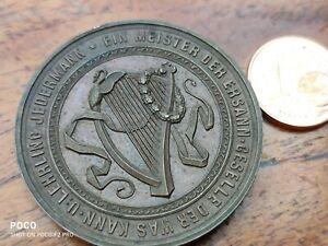 Citizens Sänger Guild München Antique Bronze Medal Jübiläum 25 Years 1840-1865