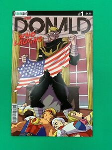 The-Donald-Who-Laughs-1-Cover-C-Variant-Keen-Spot-Trump-039-s-Titans