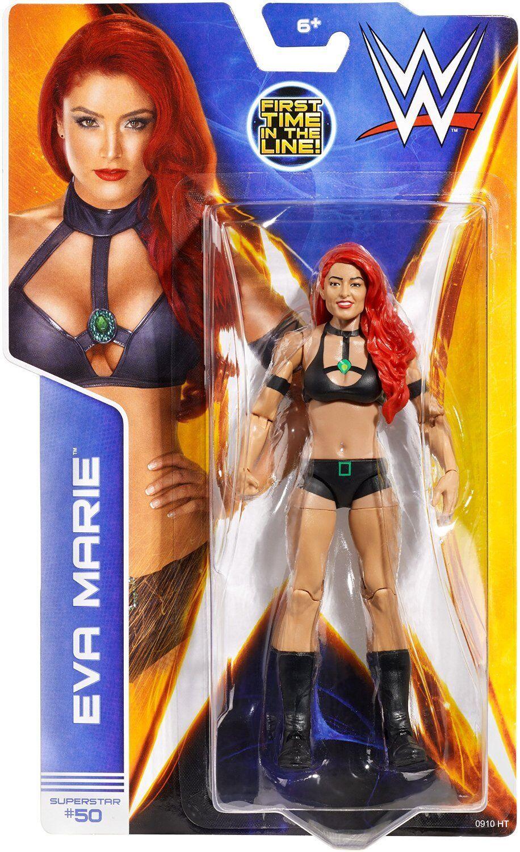 WWE EVA EVA EVA MARIE TOTAL DIVAS BASIC NEW SERIES 43 MATTEL WRESTLING ACTION FIGURE b293b3