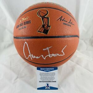 b2345860c4fdb Details about LAKERS JERRY WEST SIGNED NBA FINALS BASKETBALL AUTHENTIC BAS  COA #H99282
