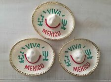 MH006 5 Mexican Mini Charro Hats, Party Favors, Decorations, Mariachi Sombrero