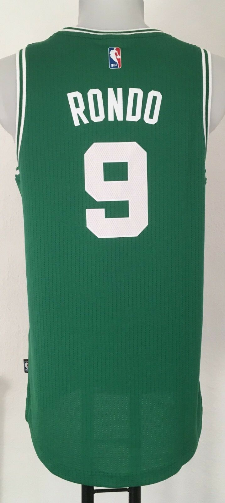 BOSTON CELTICS RONDO 9 SWINGMAN JERSEY BY ADIDAS SIZE MEN'S LARGE BRAND NEW