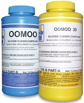 Smooth-On OOMOO 30 Silicone Mold Making Rubber 2 Pint Kit Mold Maker Arts Crafts