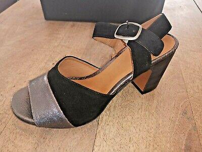 FRU.IT sandale cuir noir acier NEUVE Valeur 169EPointure 38.5   eBay
