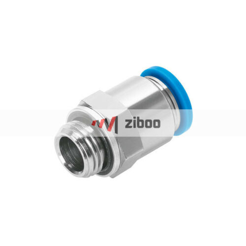 FESTO QS-G1//8-8 Push-in Fittings and Connectors 186098 1 PC New