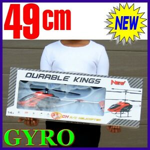 RC-3-GYRO-New-Remote-Control-Helicopter-3-5CH-BIG-not-mini-xMas-Christmas-Red