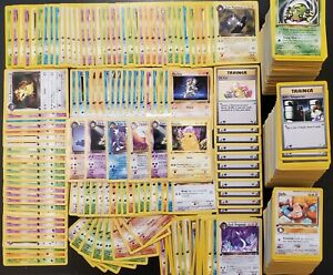 1ST-EDITION-VINTAGE-POKEMON-ONLY-Pokemon-Authentic-Collection-Lot-WOTC