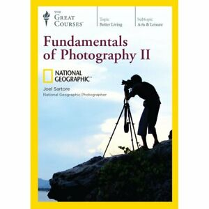 National-Geographic-Fundamentals-Of-Photography-II-w-Course-Guidebook-DVD-New