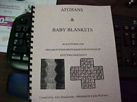 Afghans & Baby Blankets-wonderful Assortment 49 Pattern