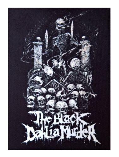 The Black Dahlia Murder patch DIY printed rock death metal metalcore thrash band