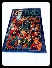 EXCLUSIVE REPLICA  Retro Video Game Magazine Replay Volume 1 COLLEZIONE NUOVO