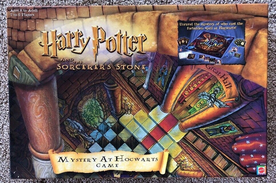 HARRY POTTER & The Sorcerer's Stone Mystery At Hogwarts -  completare - MATTEL 2000  forma unica