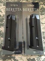 2 Pack Beretta 92fs Magazine 9mm 10 Rounds, Fast Shipping