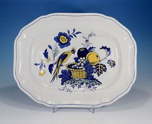 Spode-034-Blue-Bird-034-Platte-31-x-24-cm
