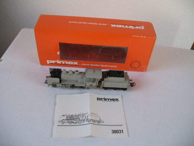 Primex Märklin 30031 in Farbanstrich grau Vitrinenmodell N E U