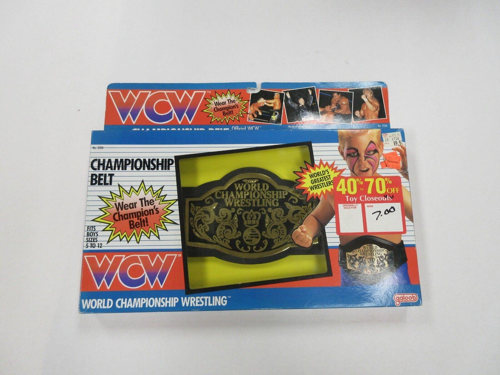 1991  GALOOB WCW ceinture du championnat FACTORY SEALED  80% de réduction