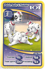 Morrisons Disney Trading Cards 2012: Patch, Rolly & Thunder (F8)