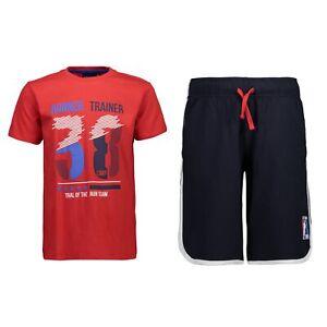 Obligeant Cmp Survêtement Sportset Jogging Costume Rouge Print Cordon Coulissant Col Rond-afficher Le Titre D'origine Soulager Le Rhumatisme