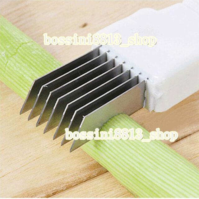 Vegetable Food Onion Cutter Slicer Peeler Shredder Chopper Kitchen Gadget Tool B
