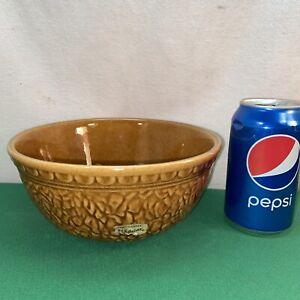Vtg 1969 Mid-Century Haeger Pottery Planter Textured VASE CENTERPIECE Chip Bowl