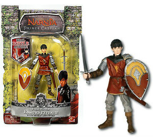 Chronicles of Narnia the Prince Caspian KING PETER Final Battle Figure 3.75/""
