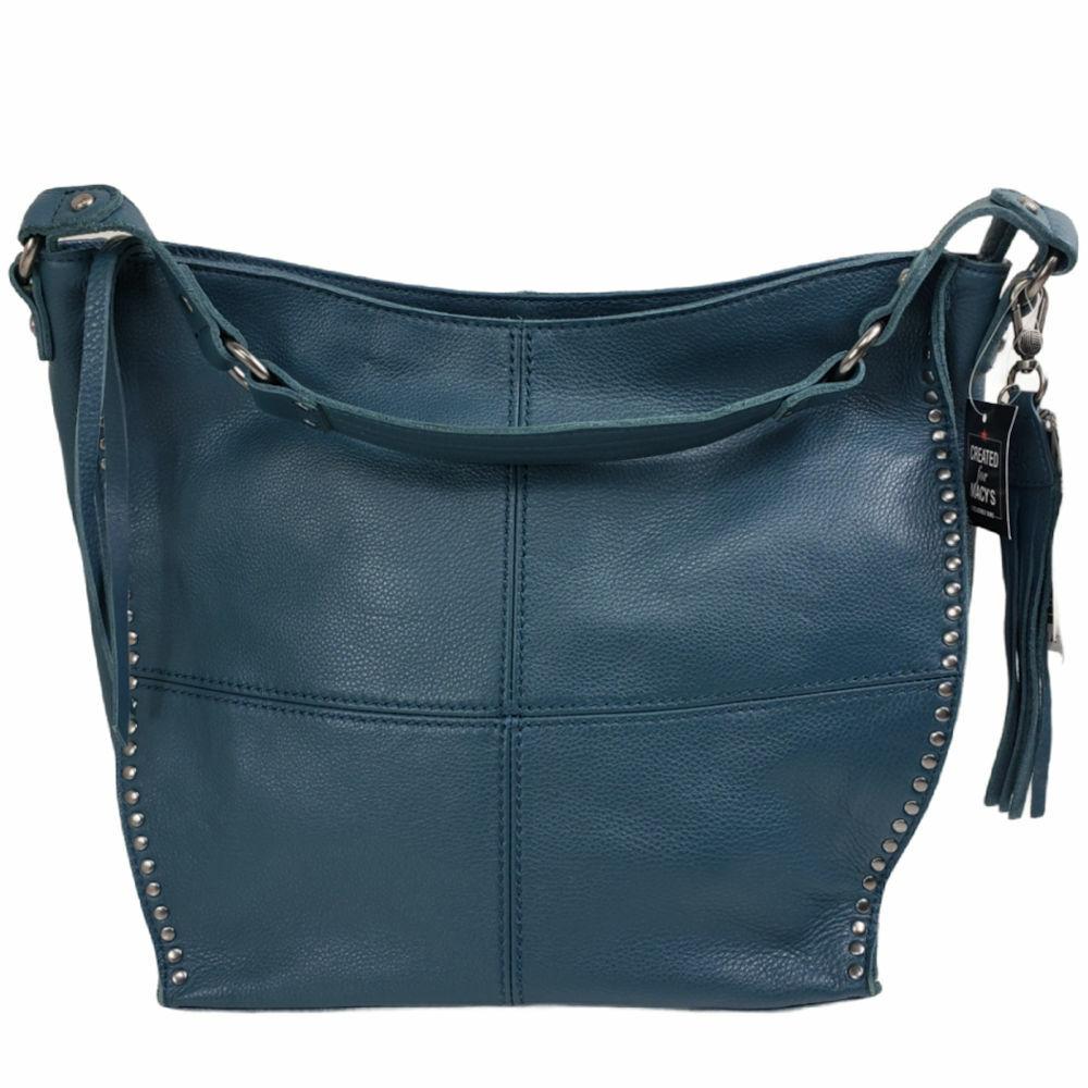 The Sak Women's Purse Green Leather Hobo, new