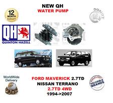für FORD MAVERICK 2.7TD Nissan Terrano 2.7TD 4WD 1994-2007 NEU QH Wasserpumpe