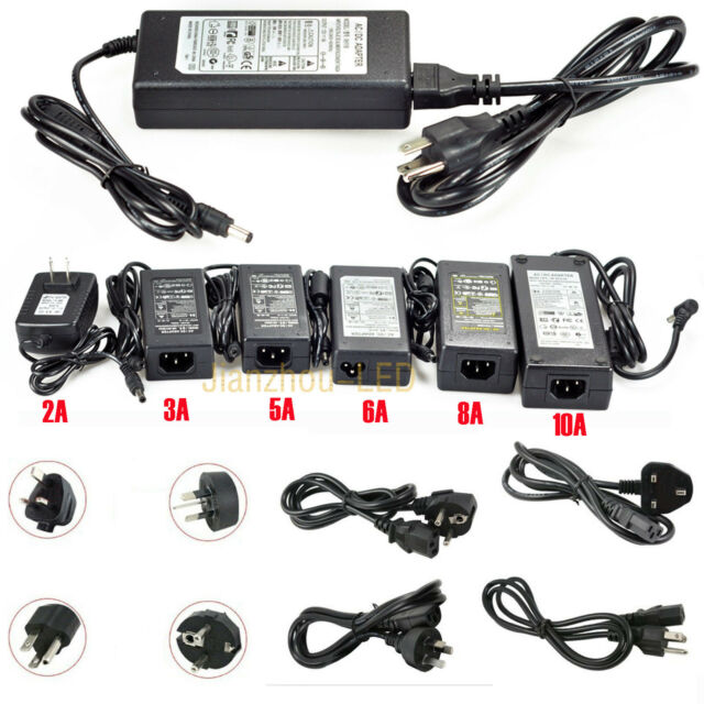 Adapter 12V 2A 3A 5A 6A 8A 10A Power Supply for 5050/5630 LED light Transformer