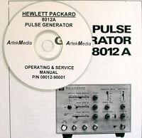 Hp 8012a Operating & Service Manual
