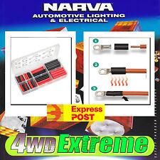 NARVA 105 PCE DUAL WALL HEATSHRINK TUBING KIT HEAT SHRINK TUBE BATTERY 12V 56654