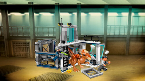 LEGO Jurassic World 75927 Ausbruch des Stygimoloch Breakout L/'évasion N6//18