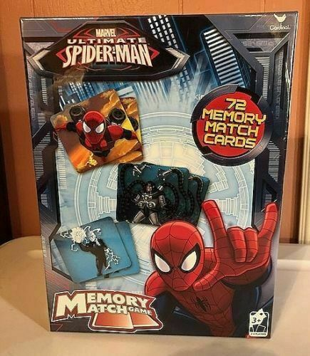 Marvel Spider Sense Spider-man Memory Match Game 72 Cards for sale online |  eBay