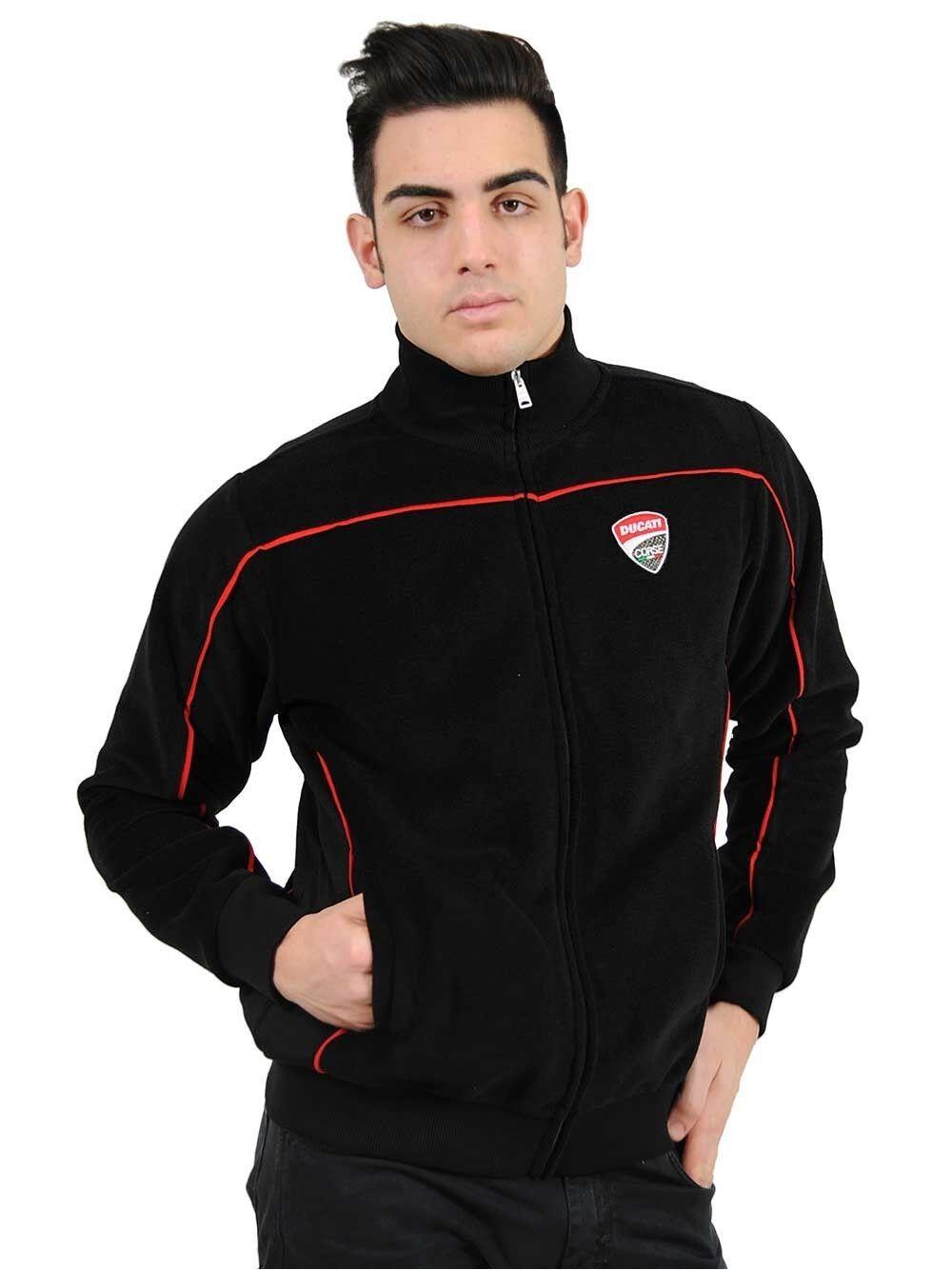 Official Ducati Corse Pile Sweatshirt - 16 66001