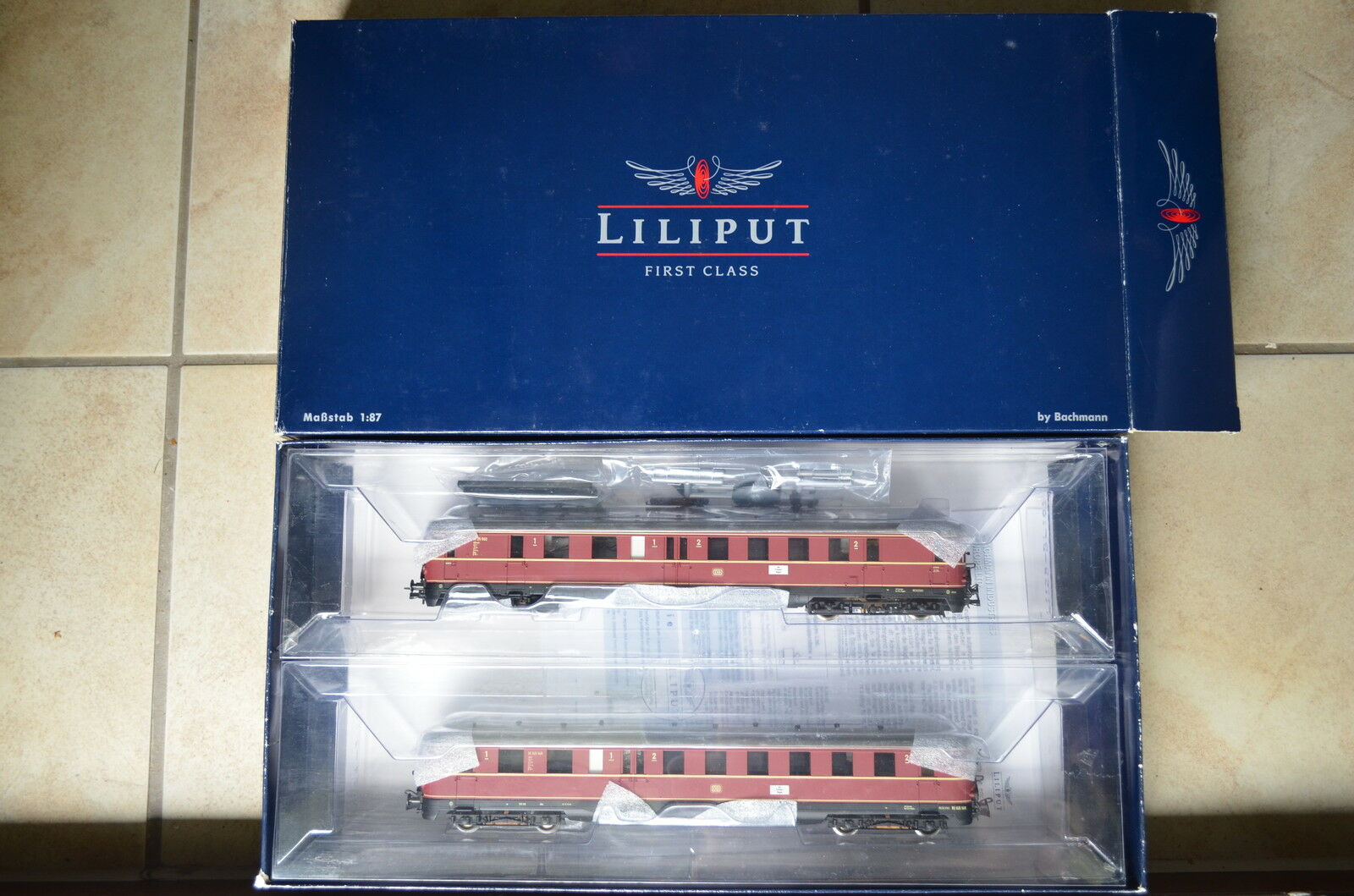 Liliput HO l112501 Motore Diesel auto VT 25 DB rosso  ca/491-140s1/5