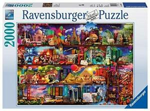 Ravensburger-Jigsaw-Puzzle-WORLD-OF-BOOKS-Travel-Shelves-2000-Pieces