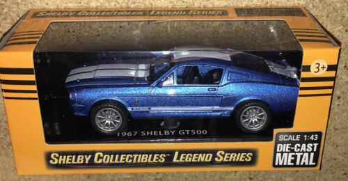 Carroll Shelby Collectibles Legend Series 1:43 1967 Shelby GT350 Die-Cast Cobra