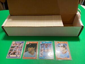 1984-FLEER-Baseball-Card-Set-PUCKETT-CLEMENS-ROOKIES-RC-MATTINGLY-2nd
