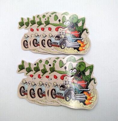 10pcs Random Ed Roth Graffiti Big Daddy Vinyl Decal Hot Rods Rat Fink Stickers